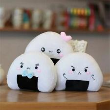 Japanese Kawaii Sushi Dumpling Rice Ball Cute Stuffed Plush Cushion Pillow Toys