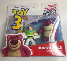 Disney Pixar Toy Story 3 Buddy Pack Hero Buzz Lightyear And Lotso  MIP