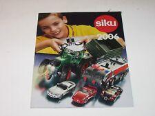Siku 2006 catalogue / brochure