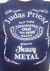 Judas Priest old No.666 Jack Shirt S M L XL 2X You Pick Size Whiskey Metal Black