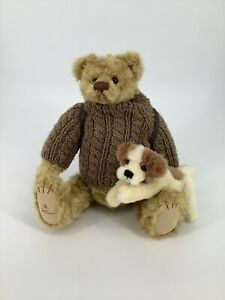 Barton's Creek Collection 82008 Buddy Bears with Lil Zippy Dog and Bag Backpack