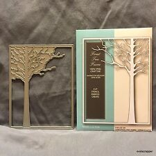 Forest Tree Frame metal die Memory Box cutting dies 99413 rectangle trees frames