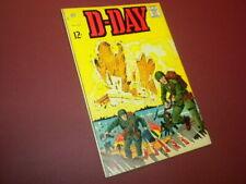 D-DAY #1 CHARLTON COMICS 1963 WAR