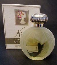 Vintage NINA BY NINA RICCI CLASSIC LALIQUE BOTTLE 3.3 FL OZ EDT NEW IN BOX!!