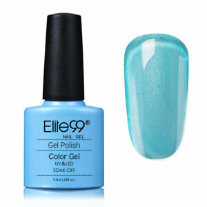 Elite99 Color Gel Polish Top Base Lacquer Manicure Nail Art Set Varnish UV LED