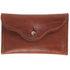 Leather Pouch for Earbuds Coins Jewelry Brown USA Made No. 15