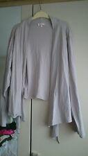 Womens size 22 cardigan, hint of grey, Victoria Jayne, used