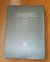 Catalogo delle lettere di Camillo Sbarbaro a Lucia e Paolo S. Rodocanachi