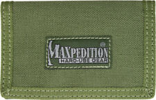 Maxpedition Micro Wallet OD Green 0218G Super thin design. Truly a minimalist's