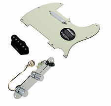 Fender Telecaster Loaded Pickguard Duncan Vintage Broadcaster Pickup Set T3W, MG
