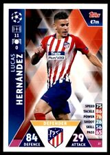 Match Attax Champions League 2018/19 - Lucas Hernández Athletico Madrid No.27