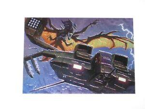 1994 ALIENS PREDATOR UNIVERSE TOPPS FINEST CHROMIUM SUBSET INSERT #5 CARD!