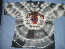 JIM BEAM bourbon whiskey Large vintage star t shirt