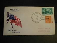 USS PROTEUS AS-19 Naval Cover 1947 FLAG DAY Cachet