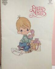 Precious Moments Gloria and Pat Dear Jon Cross Stitch Booklet 1982