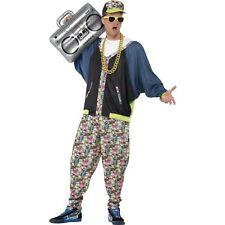 80's Hip Hop Rap Rapper MC Hammer Vanilla Ice Mens Fancy Dress Costume