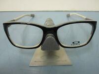 OAKLEY womens BLAMELESS 50/50 black RX eyeglass frame OX1103-0152 NEW w/O case