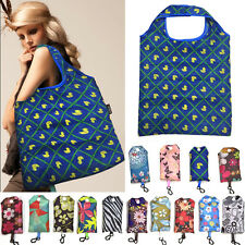 Folding Shopping Tote Bag Travel Shoulder Handbag Shopper Bags Reusable Bag
