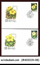 RUSSIA - 1977 FLOWERS - FDC 5 nos.