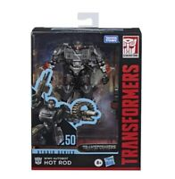 "Transformers WWII Autobot Hot Rod 4.5"" Action Figure Studio Series Deluxe Class"