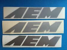 3 Lot AEM Preformance Electronics NASCAR NHRA Toolbox Racing Stickers 024