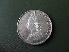 QUEEN VICTORIA.  1887, SILVER FLORIN.   JUBILEE YEAR.   NICE CONDITION.