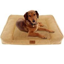 American Kennel Club Memory Foam Sofa Pet Bed Tan