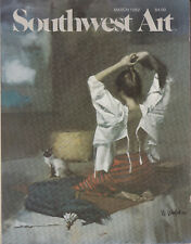 Southwest Art Magazine March 1982 Collectors W. Whitaker Cover Vintage
