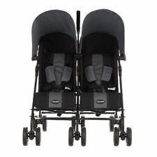OBaby Apollo Black & Grey Pushchairs Stroller