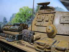 WWII RC Panzer III 3  Antennen Halter  Metall Deko Zubehör Umbau Kit 1/16