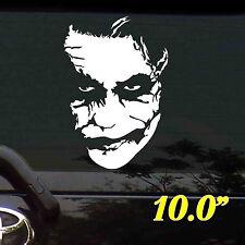 """*10.0""""""""X1PC. JESTER JOKER FACE BATMAN DECALS STICKER CUT-OUT VINYL OUT DOOR"""