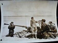 Photo PRESSE ww2 wwII 18.1x13 : CANON FlaK & TELEMETRE _ ATLANTIQUE _ 22.11.1940