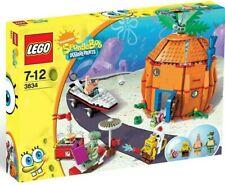 RARE LEGO SpongeBob 3834 Good Neighbors at Bikini Bottom 2BL NISB FREE Shipping!