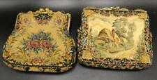 Antique French Tapestry Purses Lot 256
