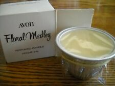 Avon Floral Medley Perfumed Candle Height 2 inches Brand New in Box