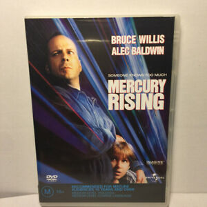 Mercury Rising  (DVD, 1998) Region 4 PAL