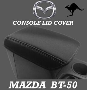 FITS MAZDA BT-50 TF NEOPRENE CONSOLE LID COVER (WETSUIT FABRIC) OCT 2020 - NOW