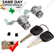 Door Lock Cylinder Front with Keys Set for Honda Accord Civic Odyssey S2000