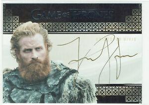 Game of Thrones Inflexions Autograph Card Kristofer Hivju as Tormund Giantsbane