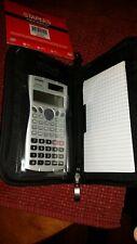 Casio fx-115Ms Scientific Calculator with New Staples Graphing Calculator Case