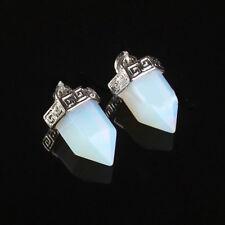 NEW Opalite Quartz Gemstone Hexagon Pendulum Pendant Jewelry