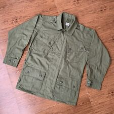 VIETNAM FIRST 1st PATTERN JUNGLE JACKET 1960s Poplin OG-107 REPRODUCTION