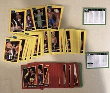 WCW Wrestling Complete Trading Card Set 162 Cards Ric Flair Sting Four Horsemen