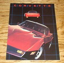 Original 1981 Chevrolet Corvette Sales Brochure 81 Chevy