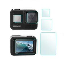 3Pcs/set Screen Protector For GoPro Hero 8 Black Accessories Protective Film US
