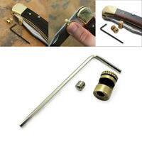 3pcs Folding Hunting Cutter Brass Screw Wrench Set for Buck 110 Thumb Stud