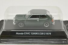 0218 KONAMI 1/64 HONDA CIVIC 1200RS SB1 Green Mint No-Box With Tracking Number