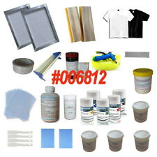 New Condition Screen Printing Materials Kit Supplies Package Fast Shipping Kit