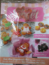 DEAGOSTINI SOMETHING SWEET MAGAZINE ISSUE 23 - WITH MINI GINGERBREAD MAN CUTTER