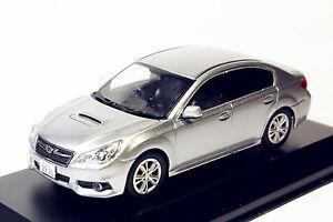 1/43 Subaru Legacy B4 Silver Diecast model